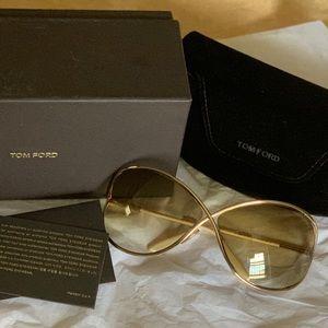 Tom Ford Miranda Sunglasses. NWOT.  Flawless.